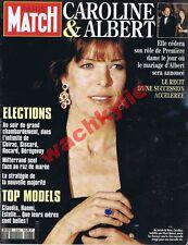 Paris Match n°2288 du 01/04/1993 Caroline de Monaco Mannequins Législatives