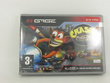 NGAGE CRASH NITRO KART - NUEVO A ESTRENAR - 01612 - NEW AND SEALED N-GAGE
