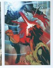 2015 Marvel Fleer Retro Flair Power Blast 3 Cyclops