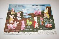 Vintage - 1979 PROMOTIONAL TOY MANUFACTURING easter toys -  ad sheet #0384