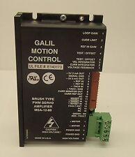 Galil 25A8K-GAL PWM Brush Servo Amplifier 25A8K Advanced Motion Type MSA-12-80