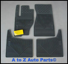 NEW 2005-2010 Jeep Grand Cherokee SLATE Slush Style RUBBER Floor Mats,OEM Mopar