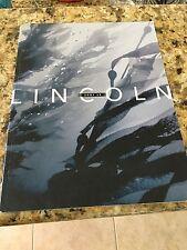 2001 LINCOLN LS 36-page Original Dealer Brochure