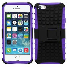 For Alcatel POP 4 5051 New Shock Proof Stand Phone Case Cover PURPLE