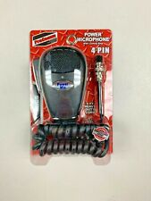 PROCOMM PSM4PM CB RADIO POWER HAND MICROPHONE 4 PIN FOR COBRA UNIDEN
