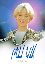 STAR TREK CINEMA 2000 AUTOGRAPH CARD A19 ARTIM / MICHAEL WELCH