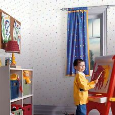 DITSY STARS 10m WALLPAPER (FD40277) FINE DECOR KIDS BEDROOM NURSERY WALLPAPER