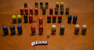COLLECTION OF 34 MARVEL MIGHTY BEANZ: DAREDEVIL, IRON MAN, SPIDER-MAN & MORE