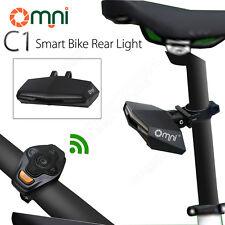 Omni C1 Smart Bike LED Licht Kabellose Fernbedienung Rücklicht USB Aufladbar