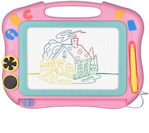 Travel Size Easy Erase Magnetic Drawing Board for Kids