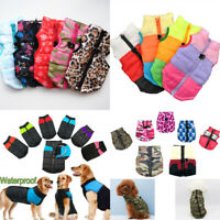 Pet Dog Clothes Puppy Waterproof Padded Jacket Warm Winter Dog Vest Coat Apparel