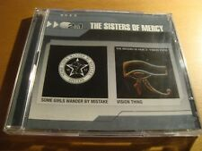 RAR 2 IN 1. 2 CD'S. THE SISTERS OF MERCY. SOME GIRLS & VISION THING