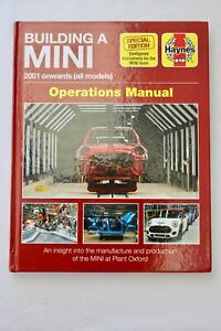 Haynes Special Edition Building a Mini Operations Manual 2001 Onwards. Like New