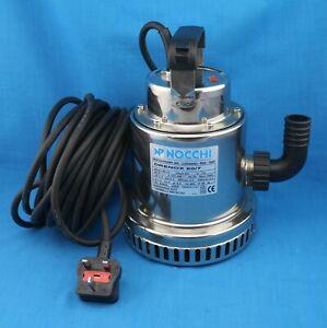 NOCCHI DRENOX 80/7 Stainless Steel Drainage Pump Rain Water/Drain water 230V
