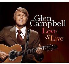 Glen Campbell - Love & Live [New CD] UK - Import