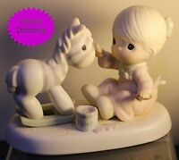 Enesco PRECIOUS MOMENTS What A Difference You've Made In My Life 531138 MINT!