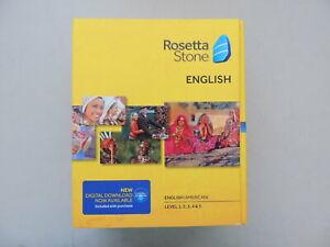 Rosetta Stone English (American) V4 Level 1-5 Model 30704