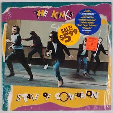 THE KINKS: State of Confusion USA Shrink Arista Rock Hype Sticker ORIG LP NM