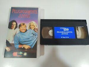 Peligrosamente Juntos Robert Redford Daryl Hannah - VHS Cinta Español