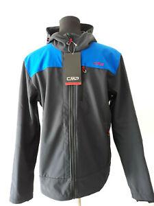 CMP Herren Softshelljacke Outdoorjacke wasser-winddicht Funktion Wandern Gr. 50