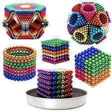 216PCS Magic  Blocks Balls Sphere Cube Beads Building PUZZLE