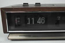 Sony Digimatic Flip Clock Radio 70's AM FM for Parts or Repair ICF-C511W VTG