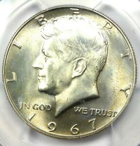 1967 Kennedy Half Dollar (50C Coin) - PCGS MS67 - Rare in MS67 - $1,500 Value!
