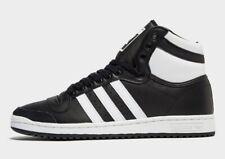 Auténtico Nuevo Adidas Originals Top Ten Hi ® (Hombre Talla Reino Unido 7 - 9) Negro/Blanco