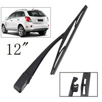 Rear Windshield Wiper Blade Arm Set For Chevrolet Captiva Sport Saturn Vue MK2
