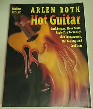 ARLEN ROTH HOT GUITAR ROCKABILLY ROCK COUNTRY BLUES LESSONS TAB INSTRUCTION BOOK
