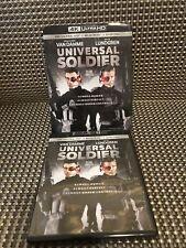 Universal Soldier 4K UHD / Blu-Ray Includes Rare OOP Slipcover (No Digital)