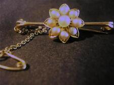 9 Carat Pearl Brooch/Pin Edwardian Fine Jewellery