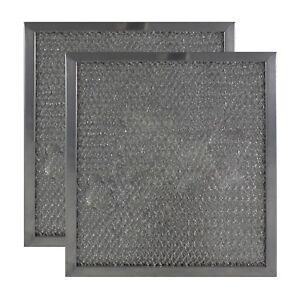 2-PACK American Metal Filter Company RHF0802 Range Hood Aluminum Grease Filters