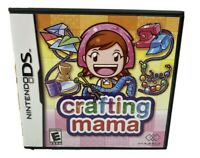 Crafting Mama (Nintendo DS, 2010) Tested Works