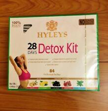 Hyleys 28 Day Detox Tea Kit (Detox/ Garcinia Cambo/ Sleep) 6 Flavors 84 Tea Bags