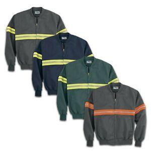 Enhanced Visibility Work Jacket (No Liner) Reflective Hi Vis Industrial Uniform