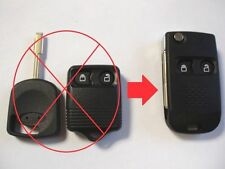 2 BUTTON FLIP KEY FOB CASE UPGRADE FOR FORD TRANSIT CONNECT REMOTE KEY
