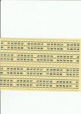 SEEBURG JUKEBOX REMOTE CONSOLETTE  WALLBOX SC-1 SELECTION & INSTRUCTION PLASTICS