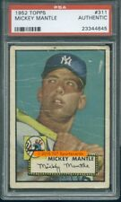 1952 Topps 311 Mickey Mantle PSA 0 (4645)