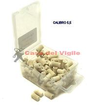 Feltrini pulizia per calibro 5.5 per carabine ad aria compressa