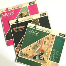 3 x DECCA Phase4 Stereo LPS SPAIN PFS4017 / ITALY PFS4015 / MEXICO PFS4027