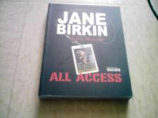 LIVRE NEUF Jane Birkin  Photos jane birkin WORLD TOUR 2008 ALL ACCESS