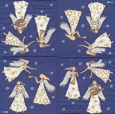 2 Serviettes en papier Anges Musique Decoupage Paper Napkins Angel Lorella