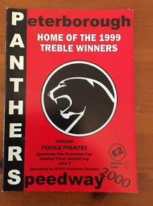 2000 PETERBOROUGH v POOLE 9th JUNE     ( GOOD CONDITION )
