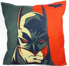 Batman Gotham Throw Pillow Cover Only NEW Comics Superhero Novelty Decorator
