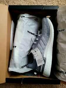 NEW in BOX Adidas ultra boost 19 men sz 9 ultraboost Gray