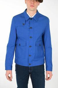 Trend Corneliani Vision Soft Men\u2019s Two Buttons Brown Cotton Wool Blazer Size 48R