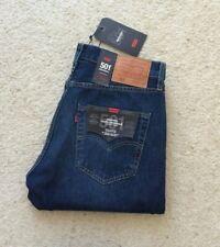 New Mens 501 XX Big E straight leg stonewash indigo denim jeans W 32 L 32