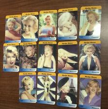 1995/96 Marilyn Monroe 14 schede UK Phonecard Serie Completa!!! Limited Original