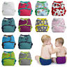 Nappy Cover Best Bottom Cloth One Size Snaps Poppers Washable Reusable Diaper